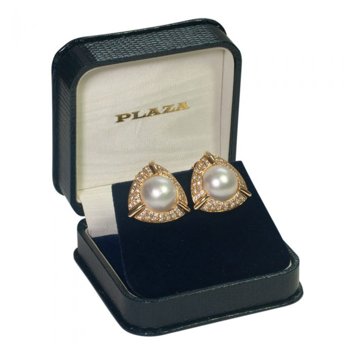 Pearl and Diamond Earrings from Plaza Jewellery - image 7