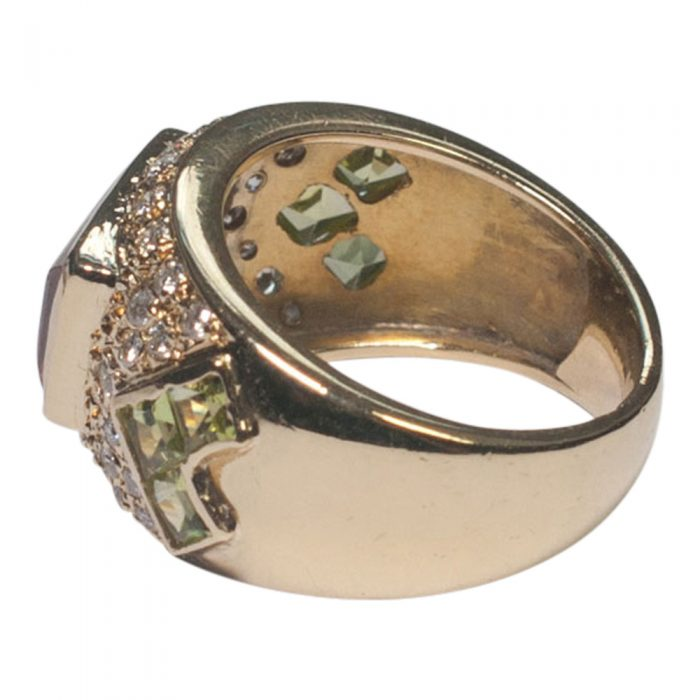 Topaz and Peridot Ring from Plaza Jewellery - image 1