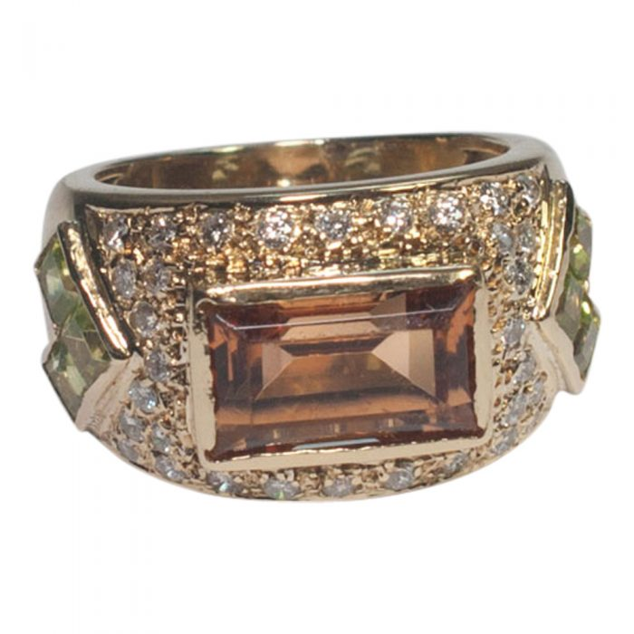 Topaz and Peridot Ring from Plaza Jewellery - image 3
