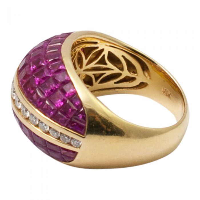 Ruby and Diamond BombŽ Ring from Plaza Jewellery - image 7
