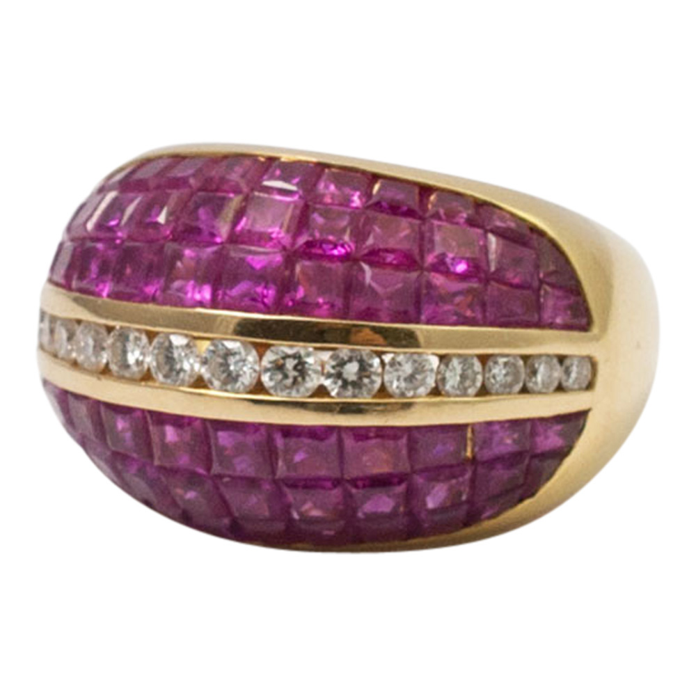 Ruby and Diamond BombŽ Ring from Plaza Jewellery - image 4