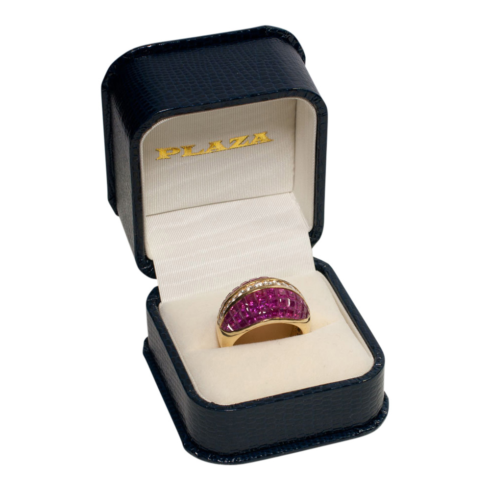Ruby and Diamond BombŽ Ring from Plaza Jewellery - image 8