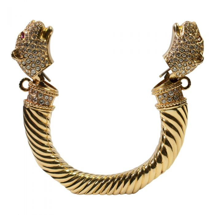 Double Panther Head Torc from Plaza Jewellery - image 4
