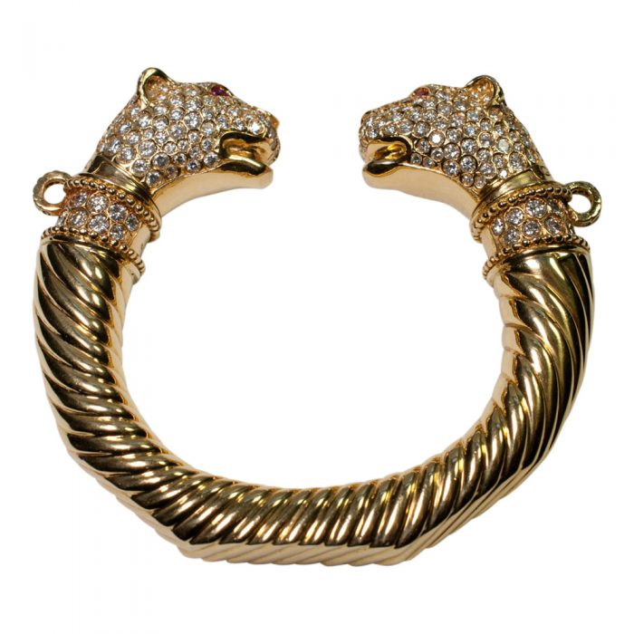 Double Panther Head Torc from Plaza Jewellery - image 7