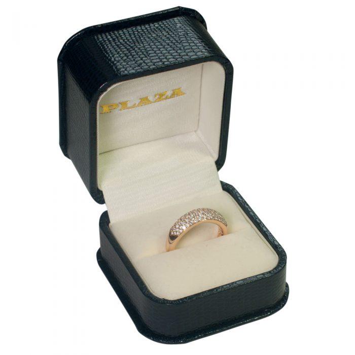 Diamond 5-Row Pav_ Band Ring from Plaza Jewellery - image 8