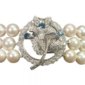 Pearl and Diamond Bracelet from Plaza Jewellery - image 1