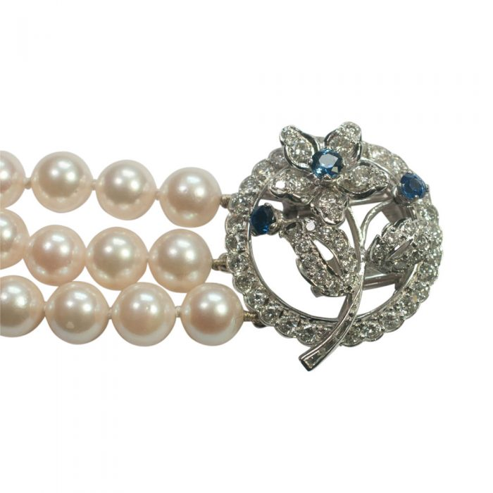 Pearl and Diamond Bracelet from Plaza Jewellery - image 4