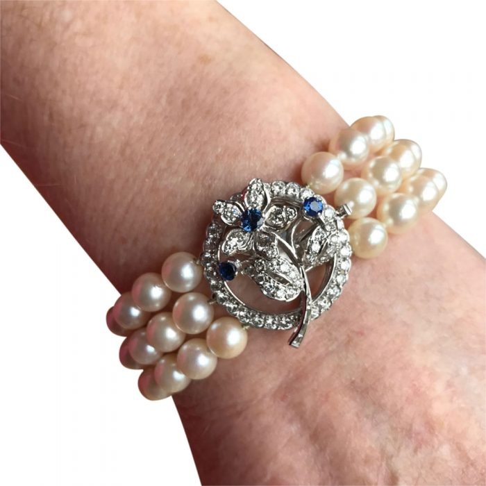 Pearl and Diamond Bracelet from Plaza Jewellery - image 7