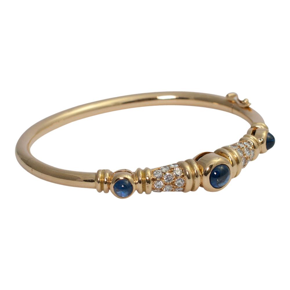 Chaumet Diamond Sapphire Bangle from Plaza Jewellery - image 3