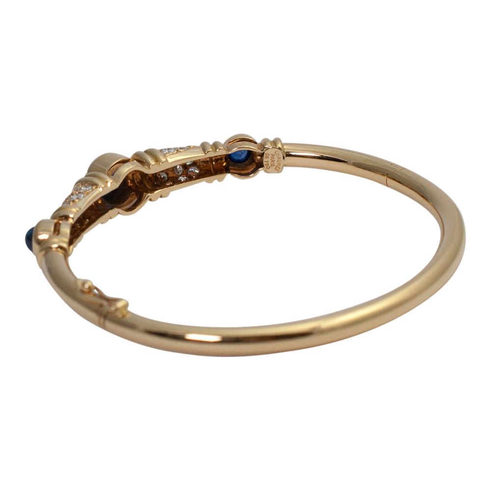 Chaumet Diamond Sapphire Bangle from Plaza Jewellery - image 4