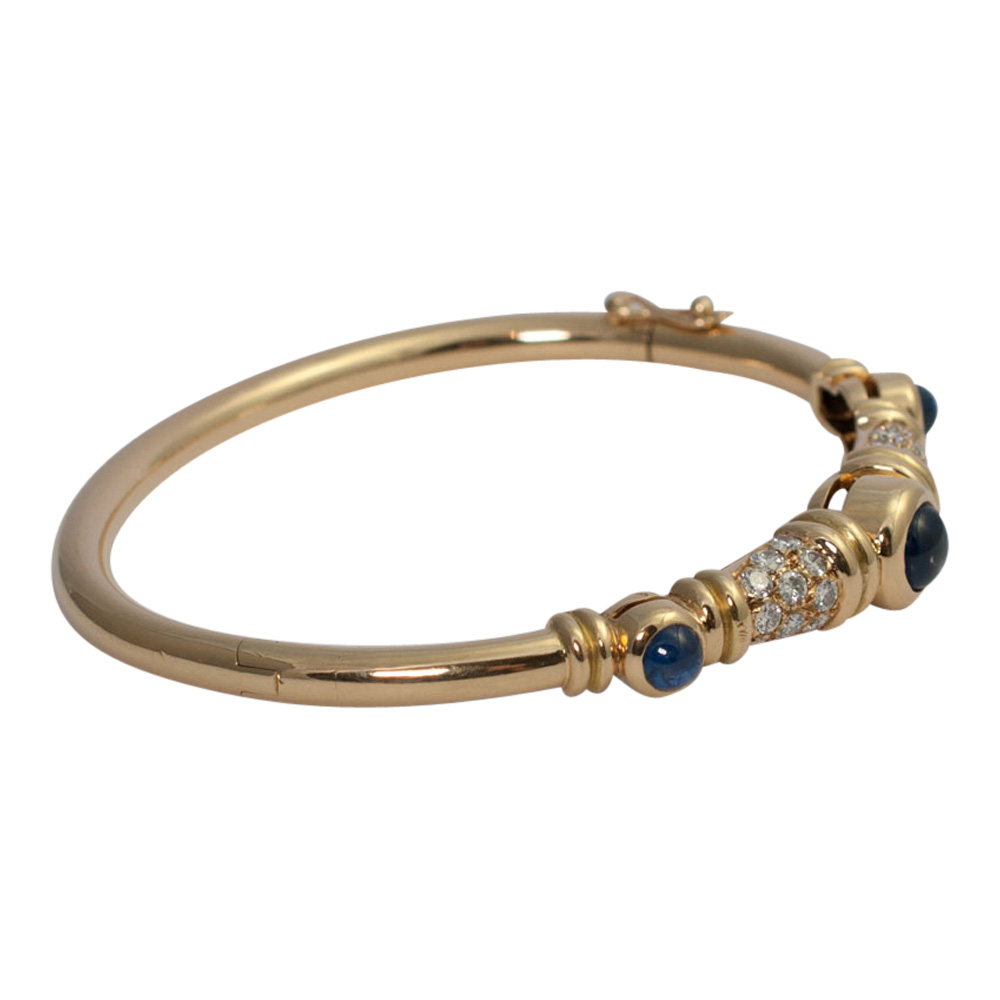Chaumet Diamond Sapphire Bangle from Plaza Jewellery - image 7