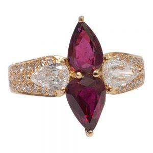 Ruby and Diamond Ring by Adler from Plaza Jewellery - image 1