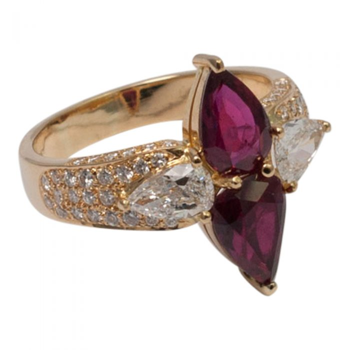 Ruby and Diamond Ring by Adler from Plaza Jewellery - image 2