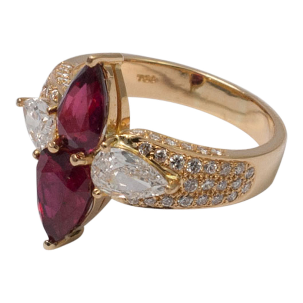 Ruby and Diamond Ring by Adler from Plaza Jewellery - image 3
