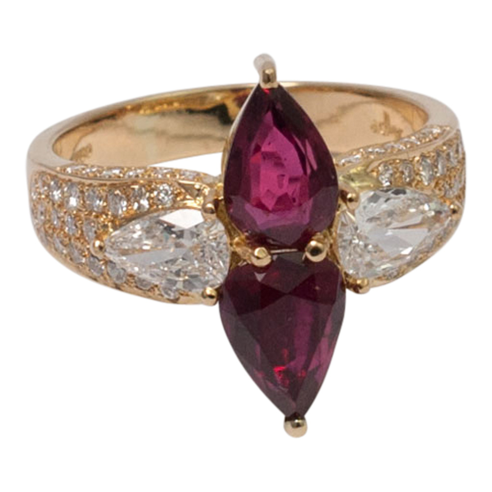 Ruby and Diamond Ring by Adler from Plaza Jewellery - image 4