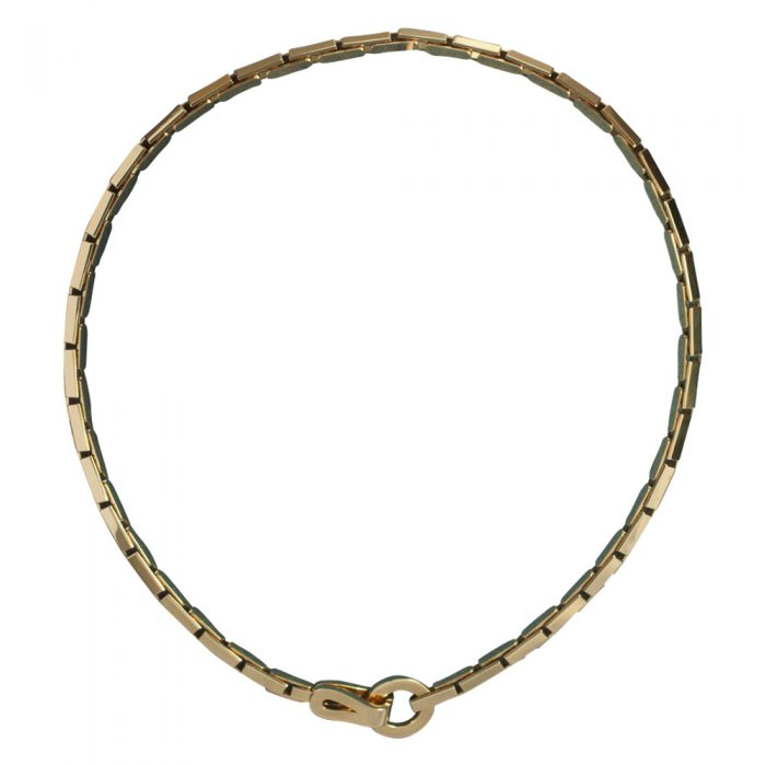 Cartier Gold 'Agrafe' Necklace from Plaza Jewellery - image 6