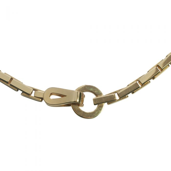 Cartier Gold 'Agrafe' Necklace from Plaza Jewellery - image 7