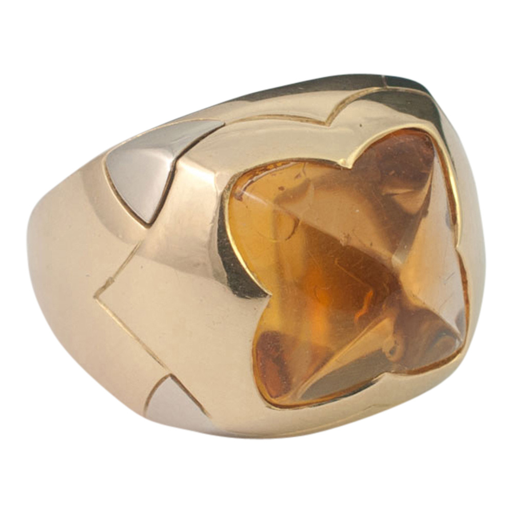 Bulgari Citrine Pyramid Ring from Plaza Jewellery - image 3
