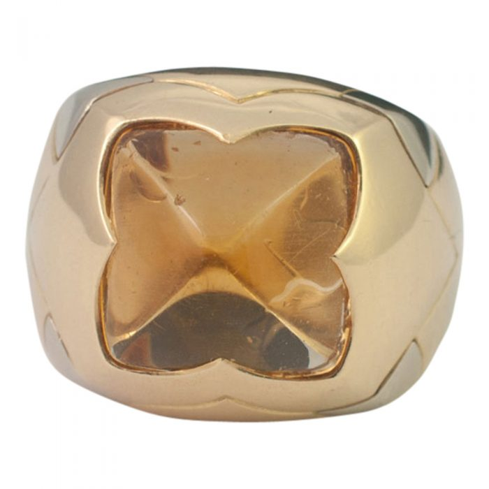 Bulgari Citrine Pyramid Ring from Plaza Jewellery - image 4