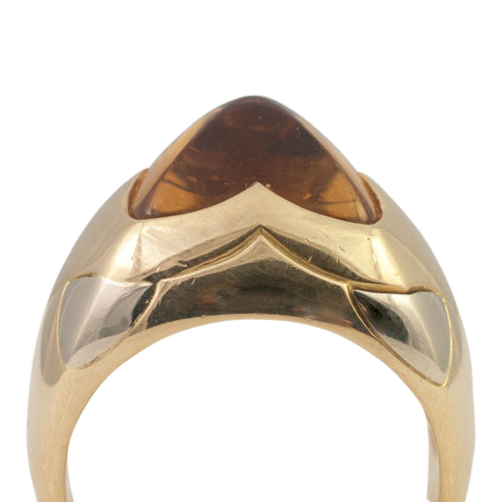 Bulgari Citrine Pyramid Ring from Plaza Jewellery - image 5