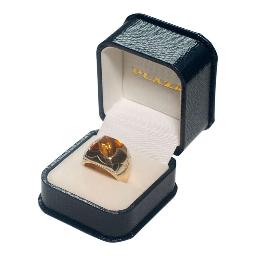 Bulgari Citrine Pyramid Ring from Plaza Jewellery - image 7