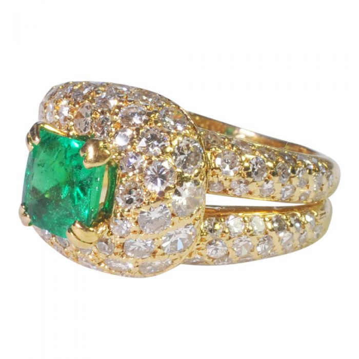 Emerald and Diamond Ring by Boucheron from Plaza Jewellery - image 2