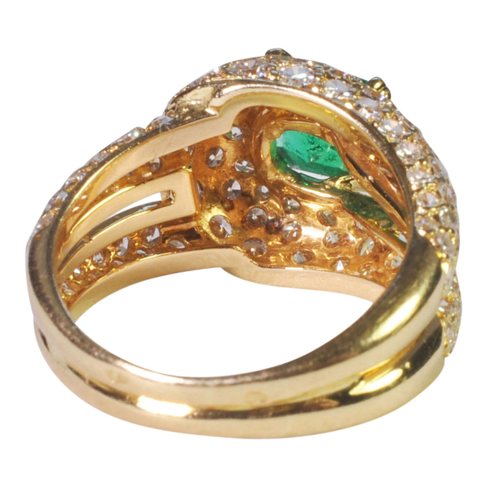 Emerald and Diamond Ring by Boucheron from Plaza Jewellery - image 3