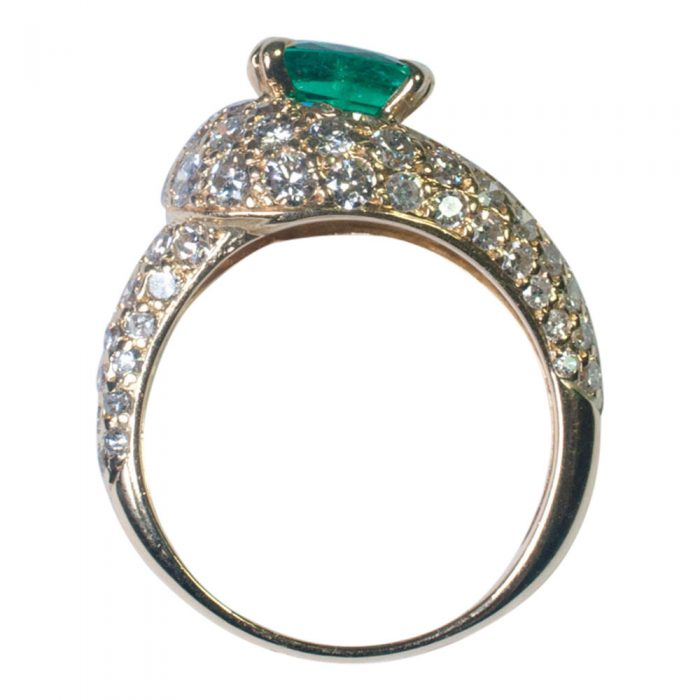 Emerald and Diamond Ring by Boucheron from Plaza Jewellery - image 4