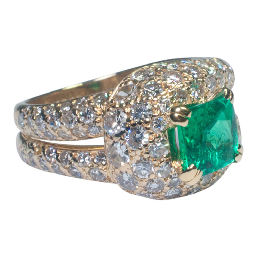 Emerald and Diamond Ring by Boucheron from Plaza Jewellery - image 5