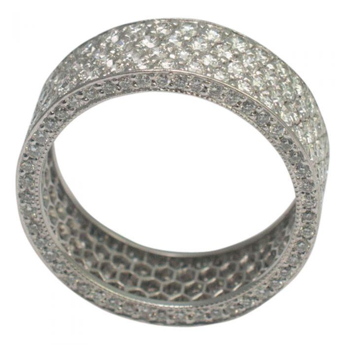 Diamond Pav_ Eternity Ring from Plaza Jewellery - image 1