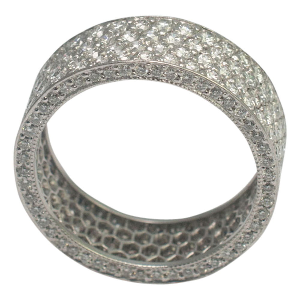 Diamond Pav_ Eternity Ring from Plaza Jewellery - image 1