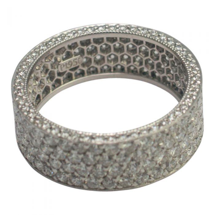 Diamond Pav_ Eternity Ring from Plaza Jewellery - image 2