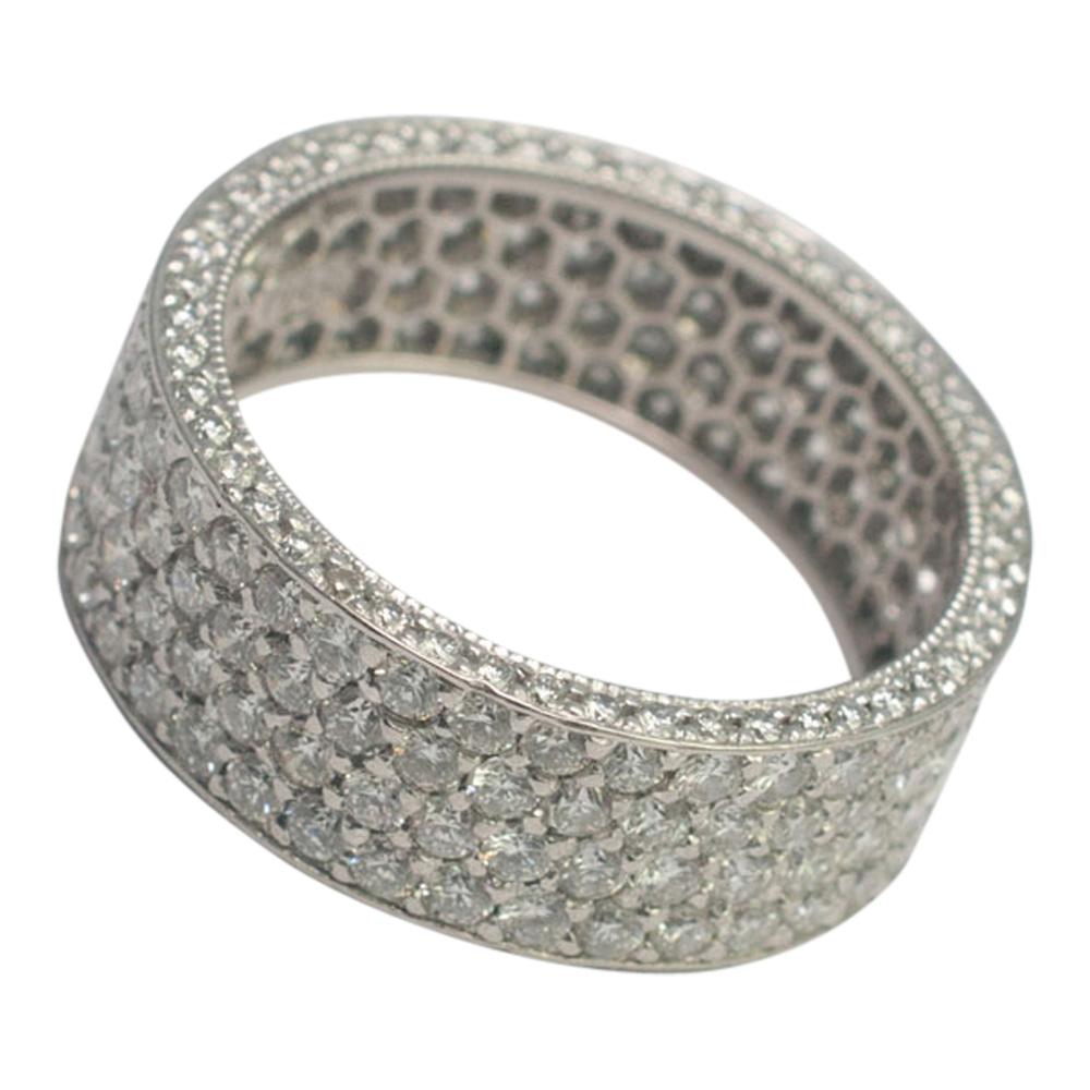 Diamond Pav_ Eternity Ring from Plaza Jewellery - image 3