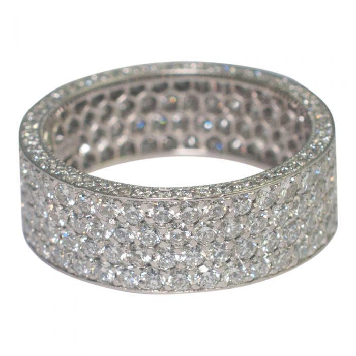 Diamond Pav_ Eternity Ring from Plaza Jewellery - image 4