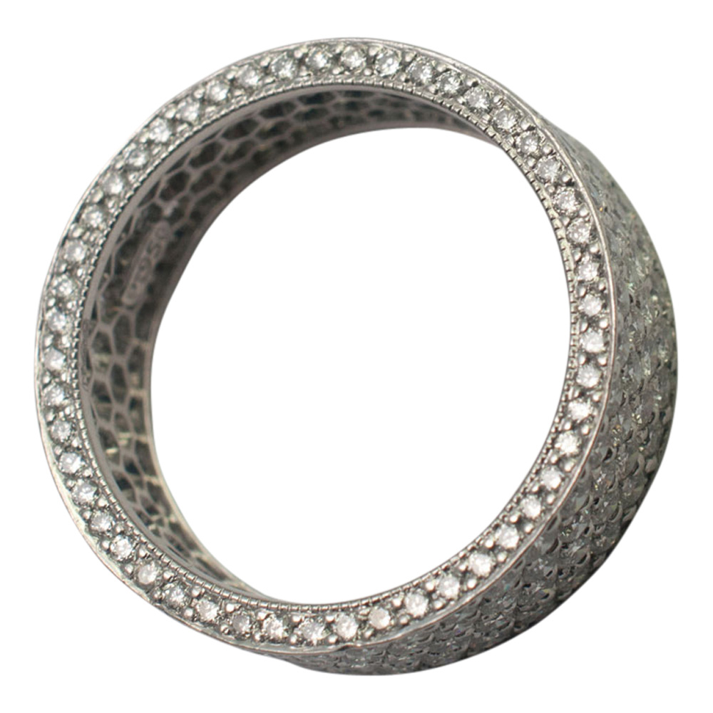Diamond Pav_ Eternity Ring from Plaza Jewellery - image 5