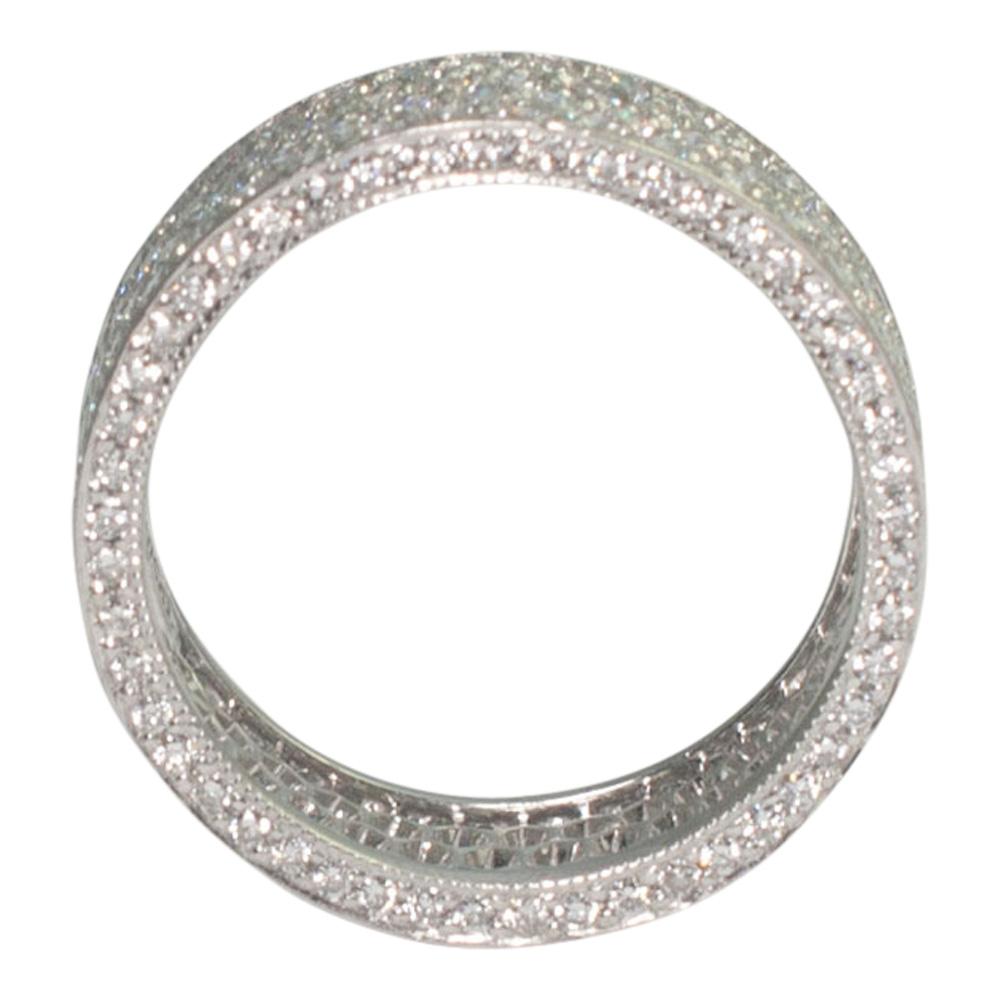 Diamond Pav 233 Eternity Ring From Plaza Jewellery