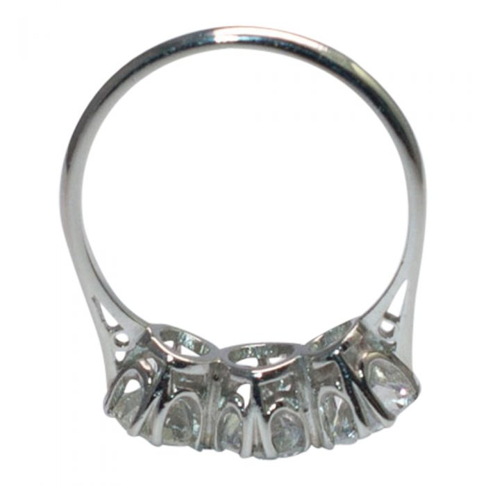 Diamond Trilogy Ring in Platinum from Plaza Jewellery - image 5