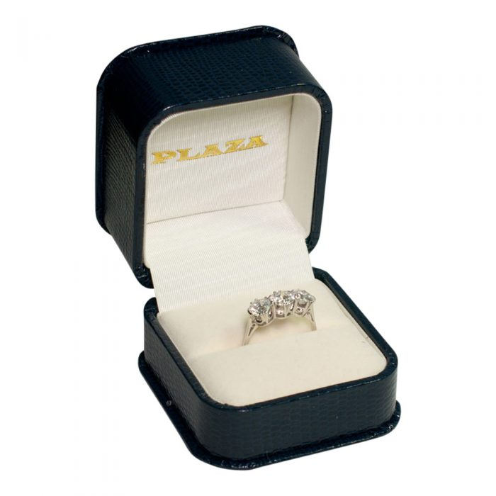 Diamond Trilogy Ring in Platinum from Plaza Jewellery - image 6