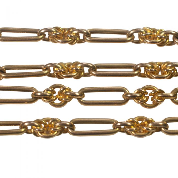 Victorian 15ct Gold Long Chain from Plaza Jewellery - image 3