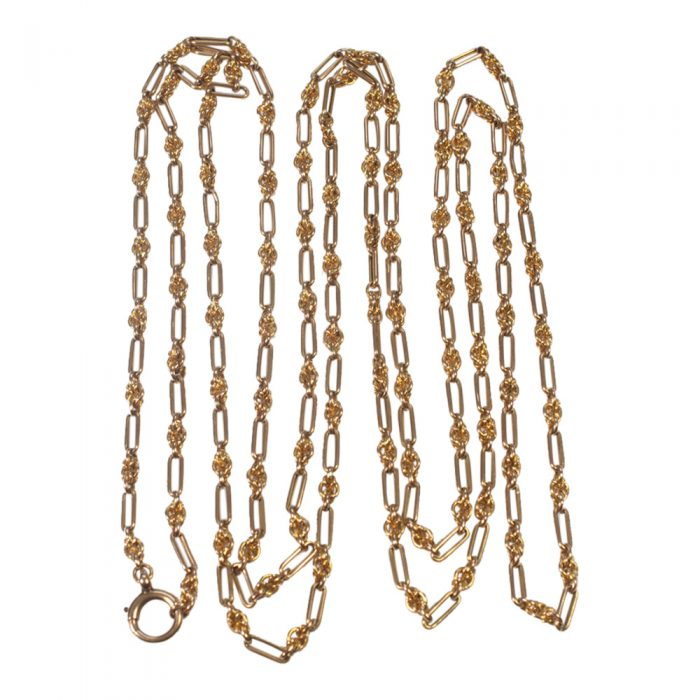 Victorian 15ct Gold Long Chain from Plaza Jewellery - image 4