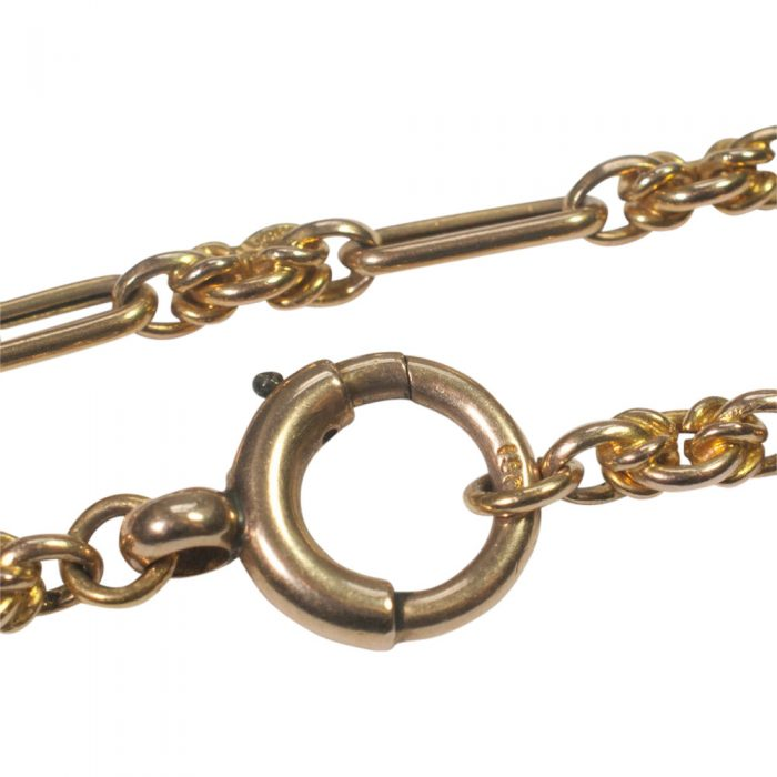 Victorian 15ct Gold Long Chain from Plaza Jewellery - image 7