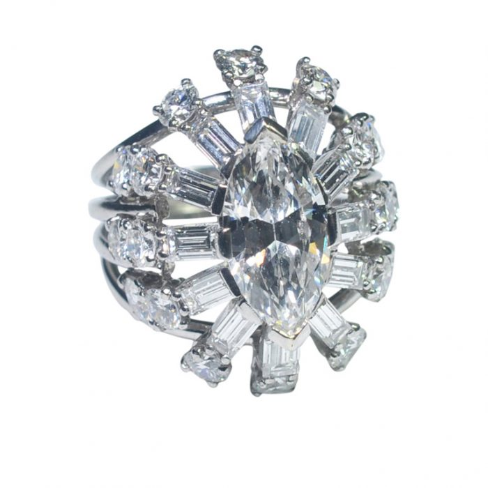 Diamond Marquise Cocktail Ring from Plaza Jewellery - image 6