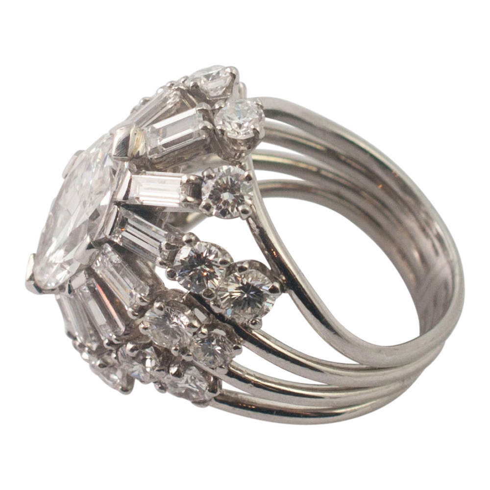 Diamond Marquise Cocktail Ring from Plaza Jewellery - image 7