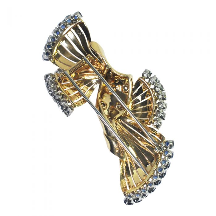 Sapphire and Diamond Brooch from Plaza Jewellery - image 1