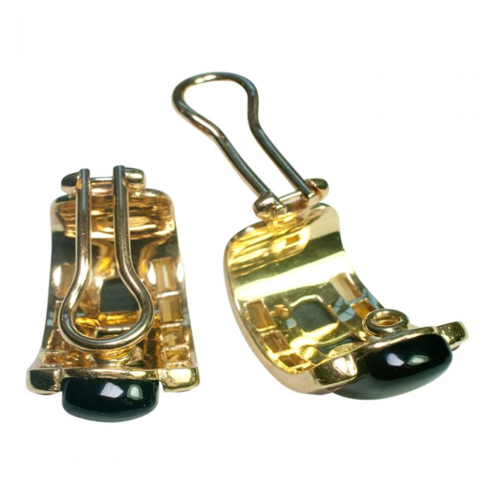 Onyx and Citrine Earrings by Sabbadini from Plaza Jewellery - image 3