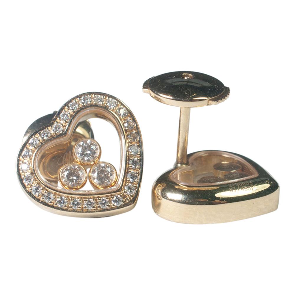 CHOPARD 'Happy Diamonds' Earrings from Plaza Jewellery - image 4