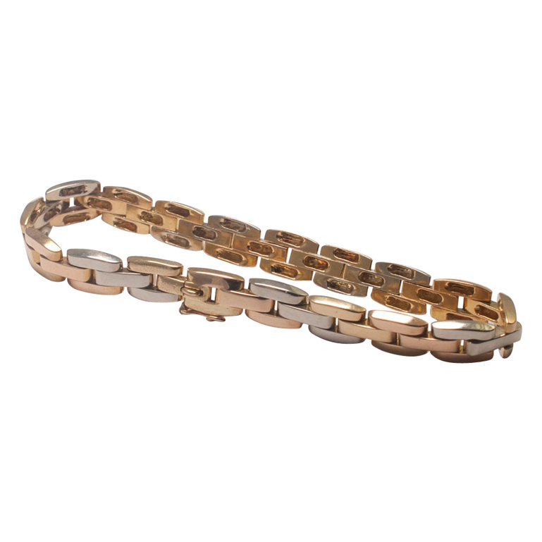 product plaza by from vca gold three can bracelet tri van cleef jewellery arpels colour