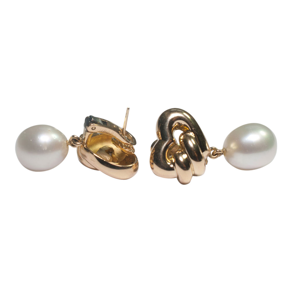 Chaumet South Sea Pearl and Gold Earrings from Plaza Jewellery - image 8