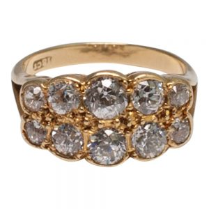 Victorian Diamond Gold Ring