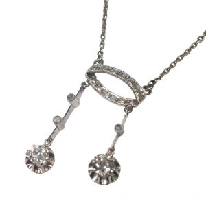 Diamond Neglige Pendant from Plaza Jewellery - image 2